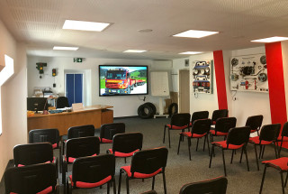 Fahrschule Pewny - Lehrsaal in Radstadt